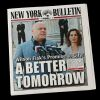 Lot # 82: 'Wilson Fisk's Promise to City' New York Bulletin Newspaper