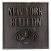 Lot # 128: New York Bulletin Building Sign