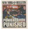 Lot # 137: 'Punisher Punished' New York Bulletin Newspaper Cover