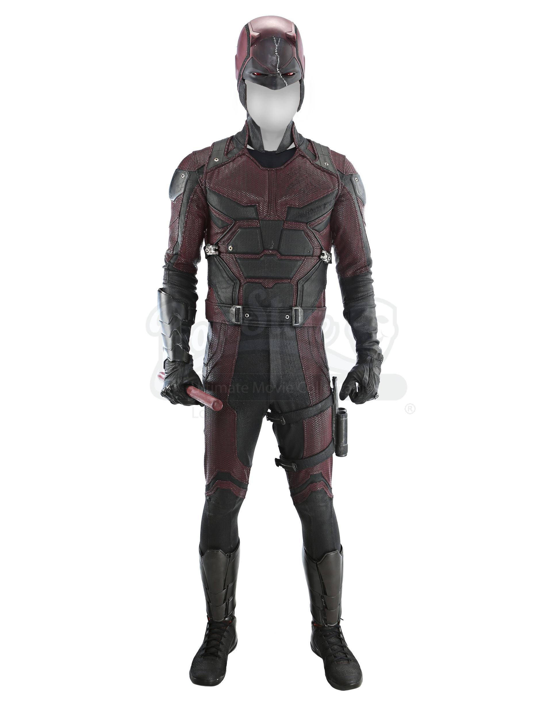 Lot # 151: Matt Murdock's First Iteration Daredevil Costume