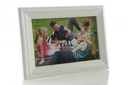 Lot # 218: Frank Castle's Framed Family Photo