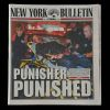 Lot # 241: 'Punisher Punished' New York Bulletin Newspaper