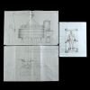 Lot # 496: Three Luke Cage Creation Concept Drawings