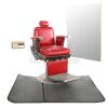 Lot # 512: Pop's Barber Shop Chair and Accessories