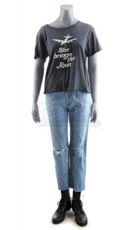 Lot # 184: MARVEL'S JESSICA JONES (TV SERIES) - Jessica Jones' Stunt Bathroom Rescue Costume