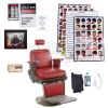 Lot # 9: Marvel's Luke Cage (TV Series) - Pop's Barber Shop Chair and Accessories Set