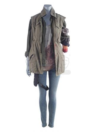 Lot #81 - Marvel's Agents of S.H.I.E.L.D. - Isabelle 'Izzy' Hartley's Bloodied Death Costume