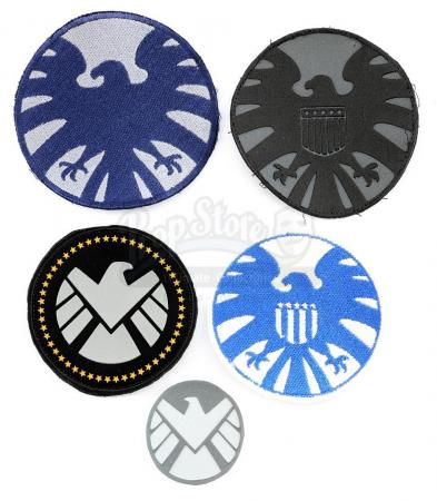 Lot #554 - Marvel's Agents of S.H.I.E.L.D. - Set of Five S.H.I.E.L.D. Patches